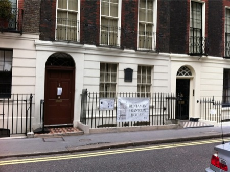 Franklin's London house