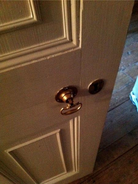 Handel's doorknob
