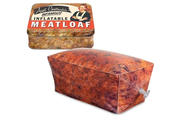 Another reason to become a vegetarian: inflatable meat loaf