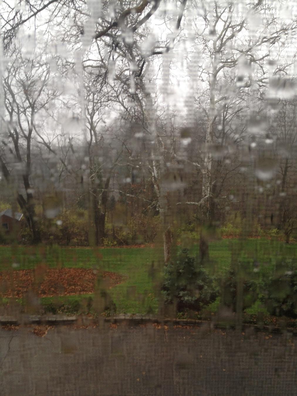 Rain. In Ohio. InNovember.