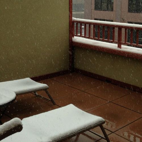 Boulder Snow, May 1