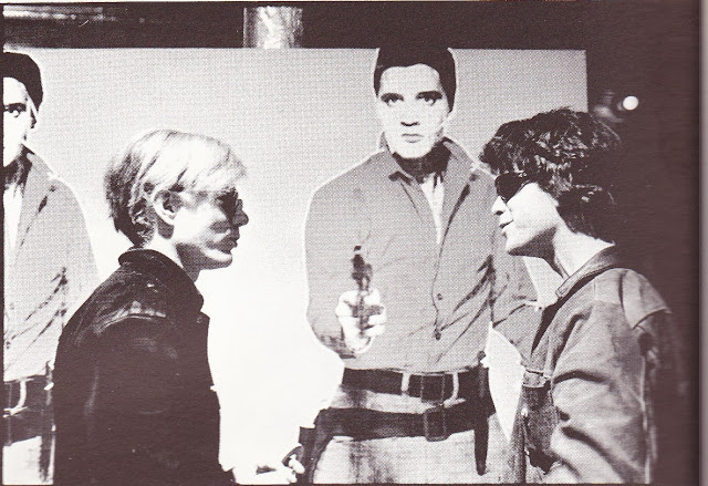 Andy Warhol and Lou Reed (and Elvis, sort of)