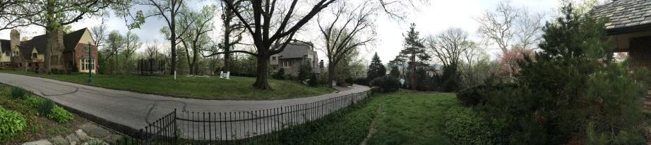 My street, panorama format.