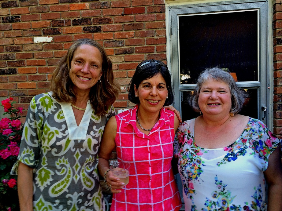 Jane, Holly and Debbie
